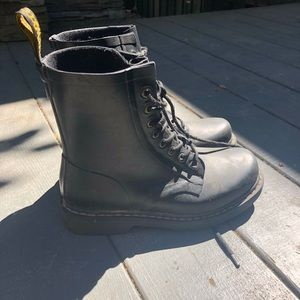 Doc Martens Vegan Leather Laceup Boots